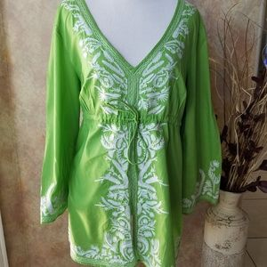 Michael Kors Lime Green Tunic, XL
